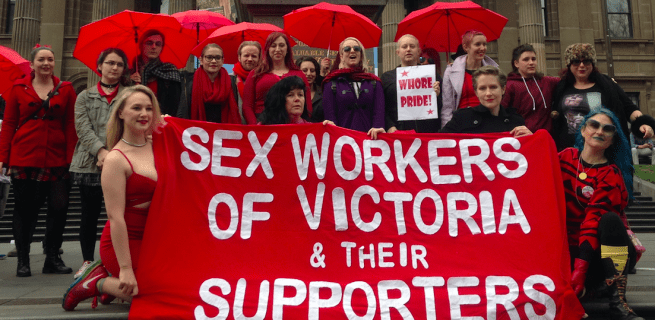 Sex Workers Of Victoria & Their Supporters