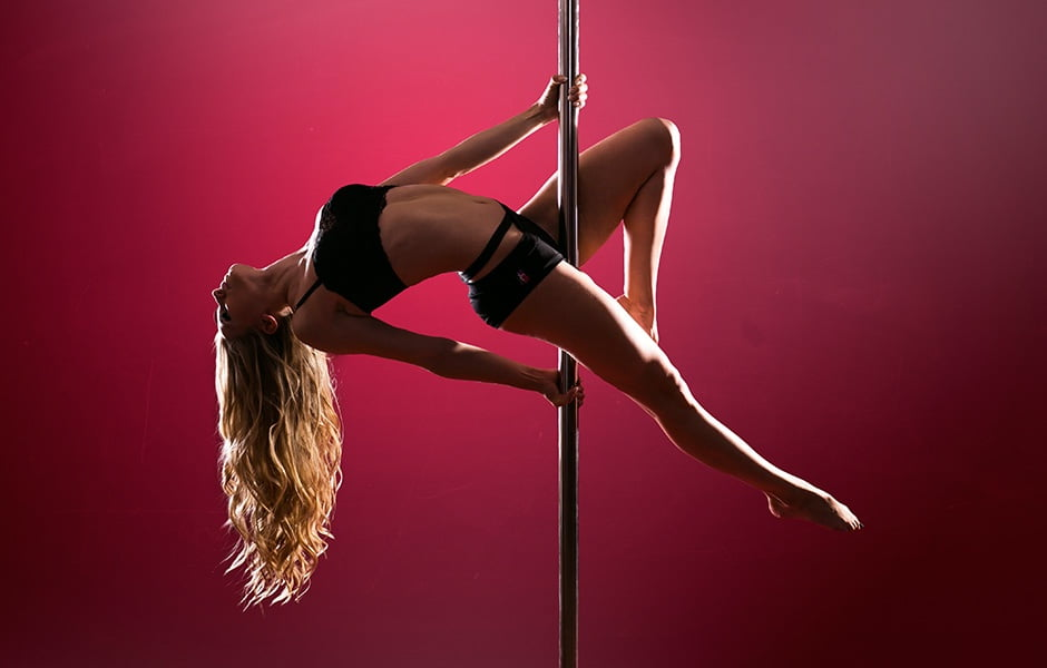 Pole Dancer Pose 1